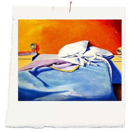 La cama. 1983 - EDUARDO ÚRCULO copia