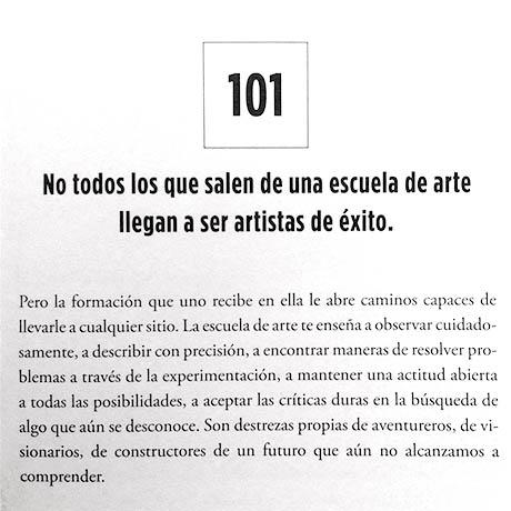 101 cosas q aprendi en la escuela arte_blog